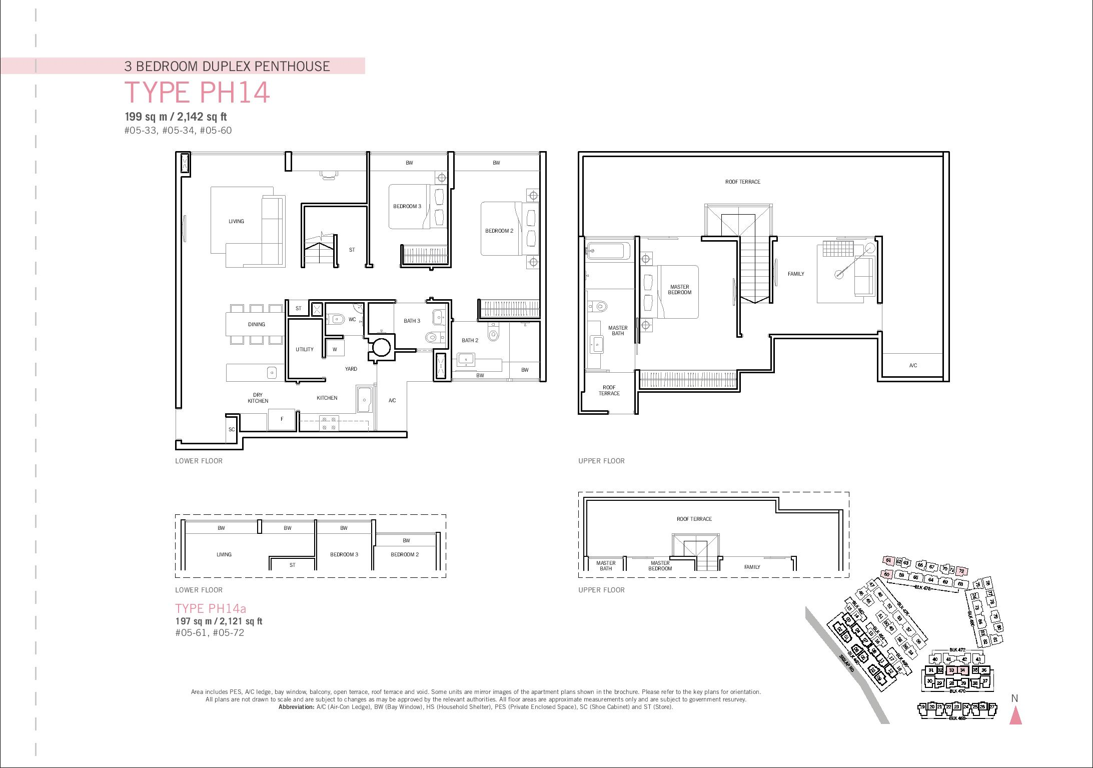Penthouse 3 bed duplex flamingo valley for 3 bedroom duplex plans